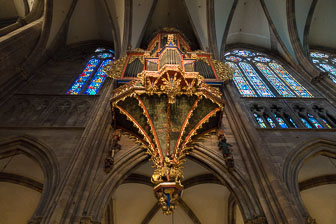 Norte Dame Cathedral-Inside Strasbourg, France