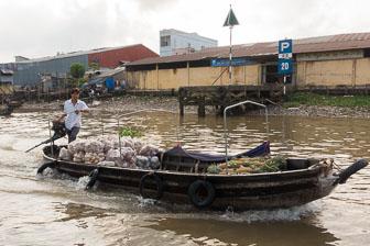 Cai Rang Floating Market