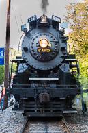 Jim Thorpe Trains - August 2015