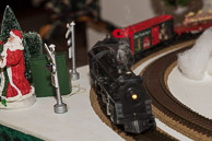 Festive Christmas House Scenes 2014