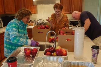 Scenes From Applesauce Making
