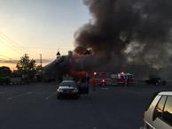 Buckeye Tavern Fire - 14 May 2015 - Video